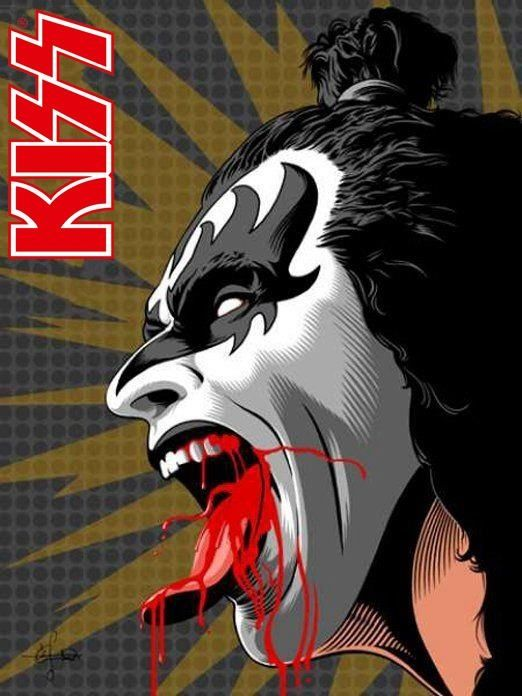 The Greatest Band In The Land Kiss Gene Simmons The Demon