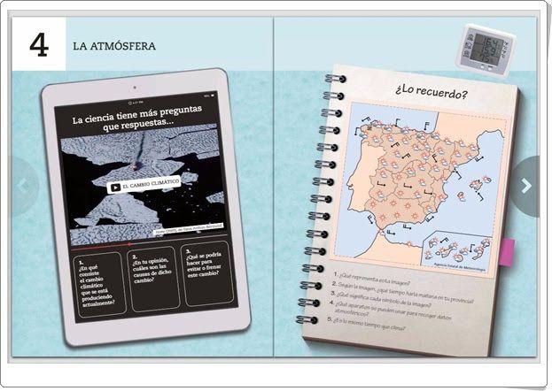 Unidad 4 De Biología Y Geología De 1º De E S O La Atmósfera Biología Geología Actividades Interactivas