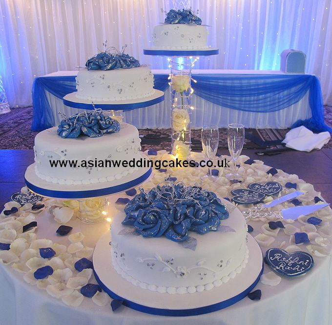 Wedding Cake Ideas Royal Blue: Pin By Maria Espinoza On Cakes In 2019