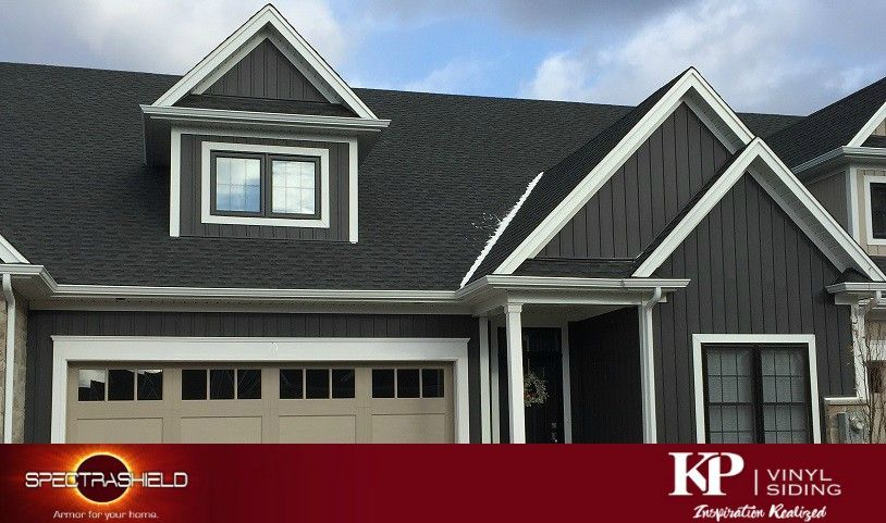 Manor A Bold Dark Color Vinyl Siding From Kp Learn More