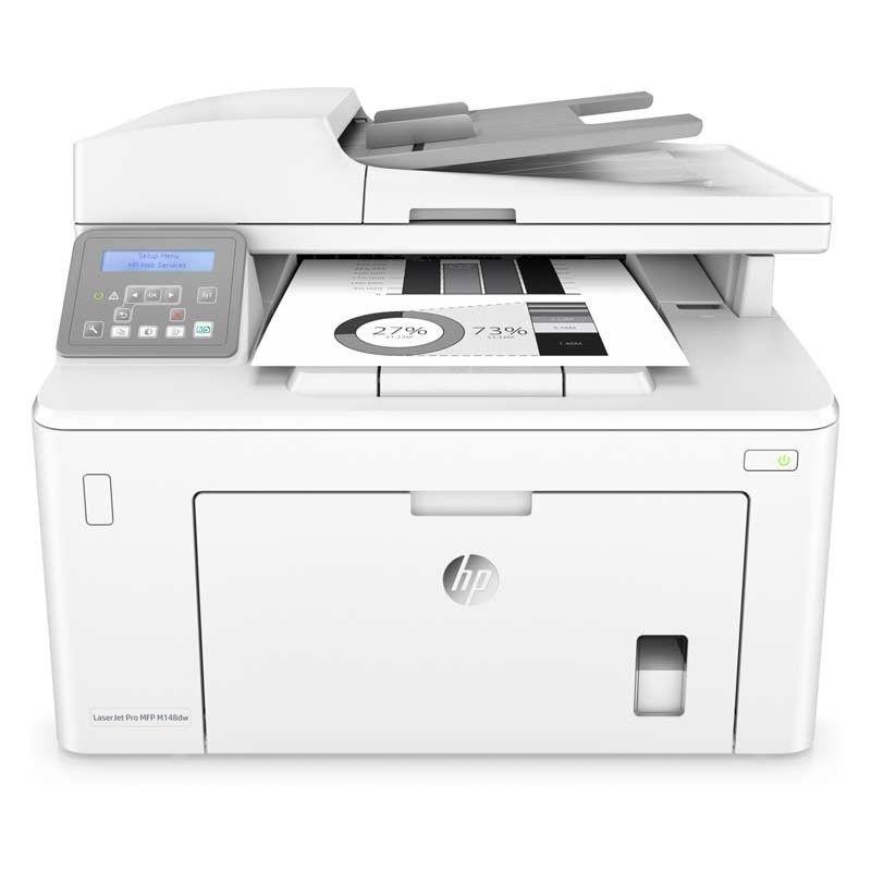 Hp Laserjet Pro M148dw Laser Multifunktionsdrucker Kopieren Scannen Duplexdruck Laserdrucker Drucker Scanner Drucken