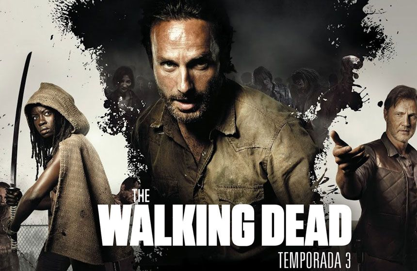 The Walking Dead promete una cuarta temporada más terrorífica | TV ...