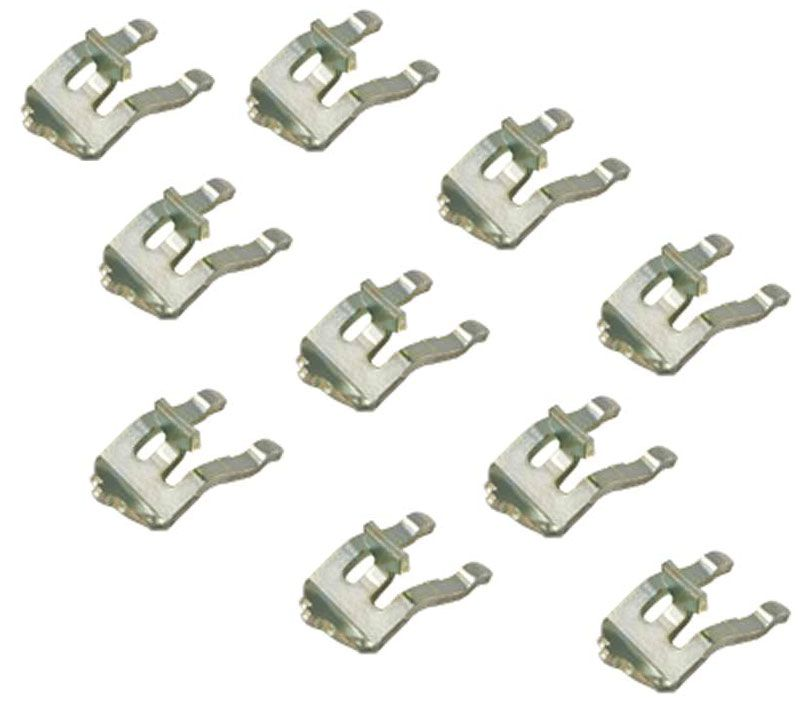 Durable Metal Pole Clips For Wire Support Pole sold as a set of 10 ...
