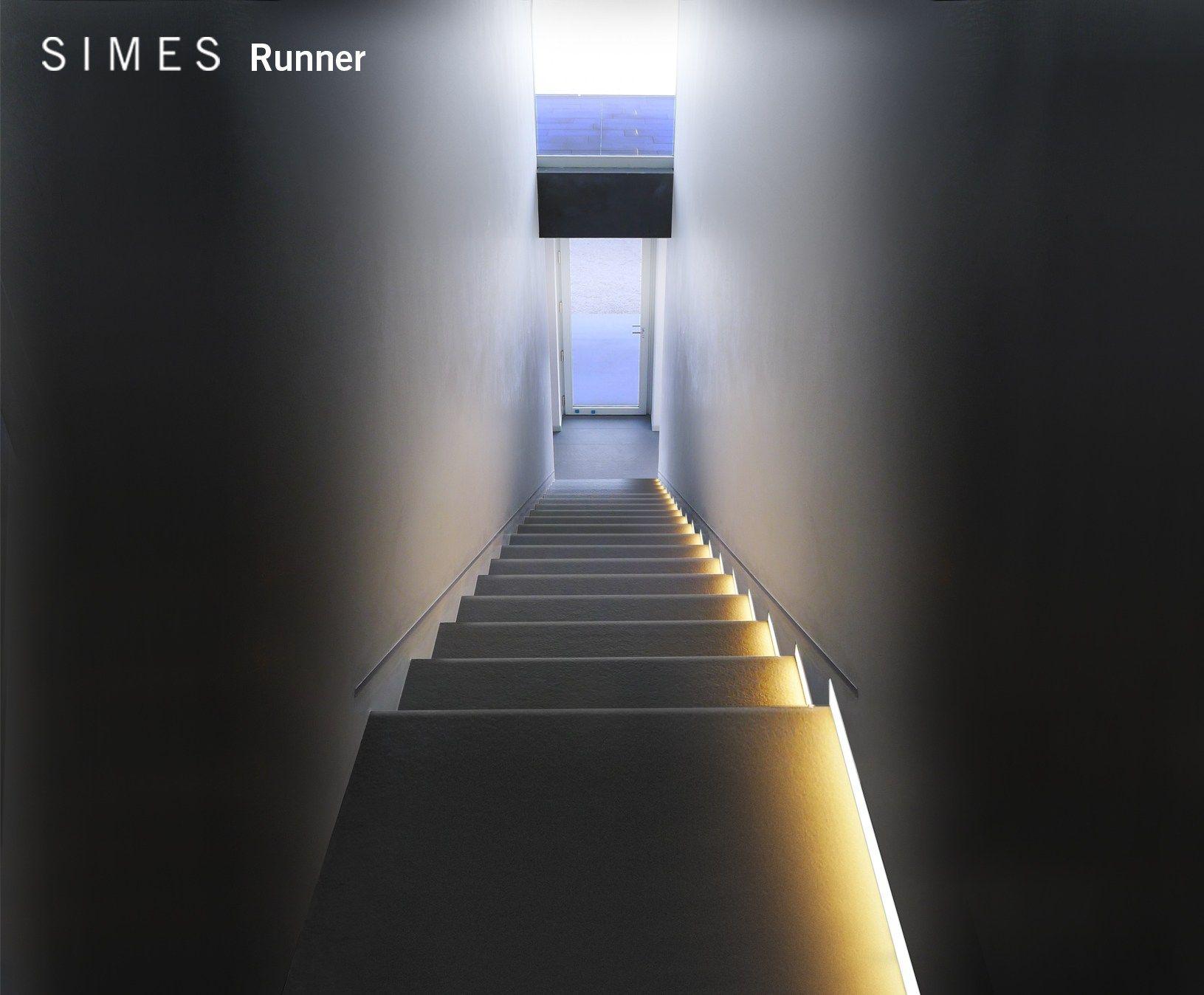 Runner ilumina o embutida led by simes arquitetura e - Iluminacion de escaleras ...