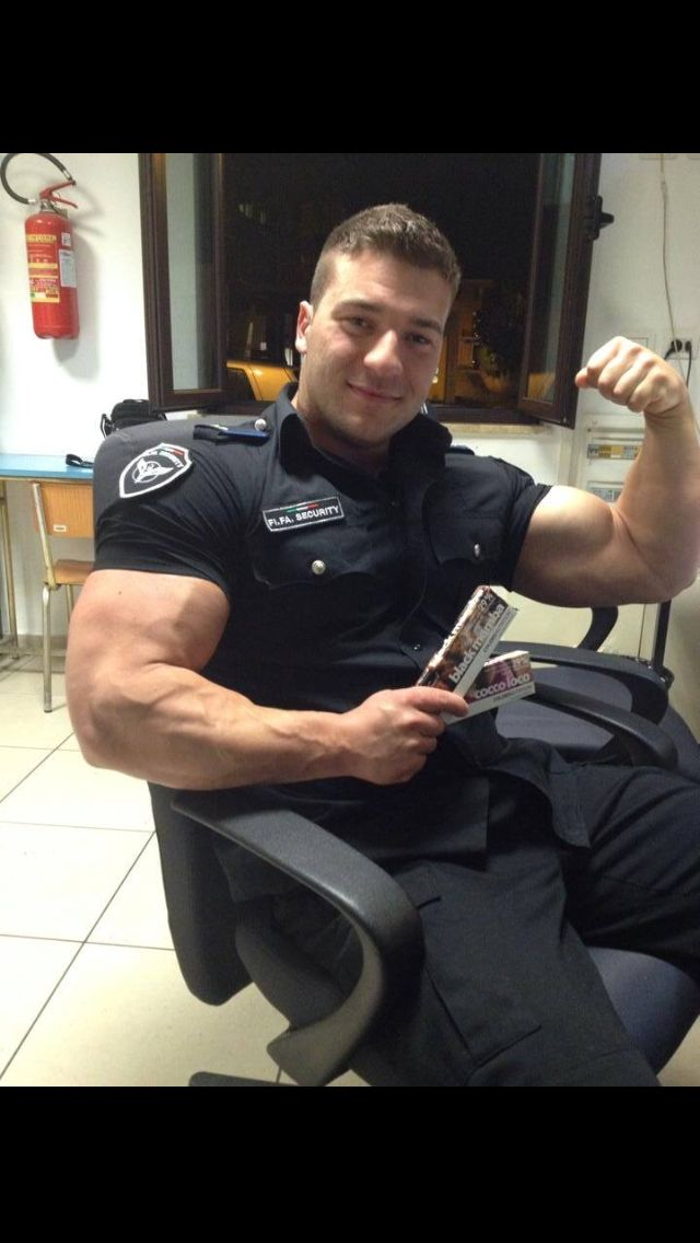 Sexx hot guy cops spears big