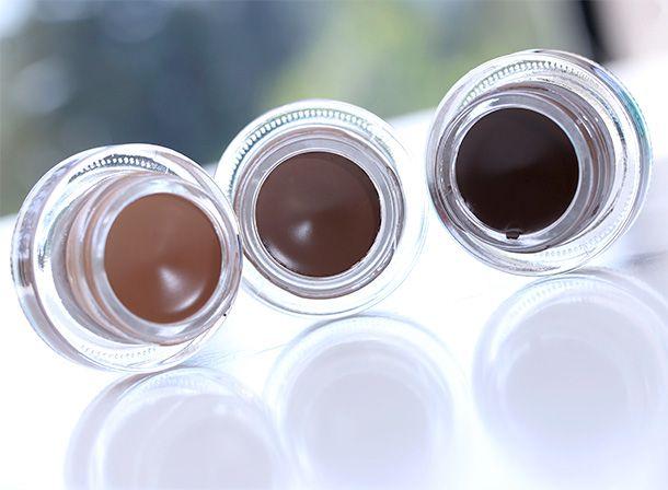 fluidline brow gelcreme mac deep dark brunette
