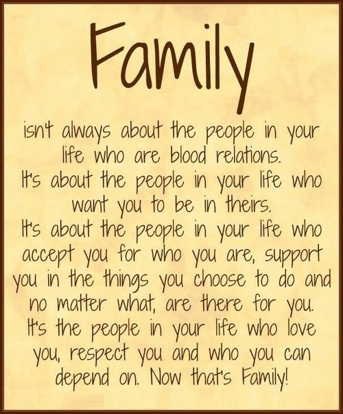 Inspirational Quotes About Families