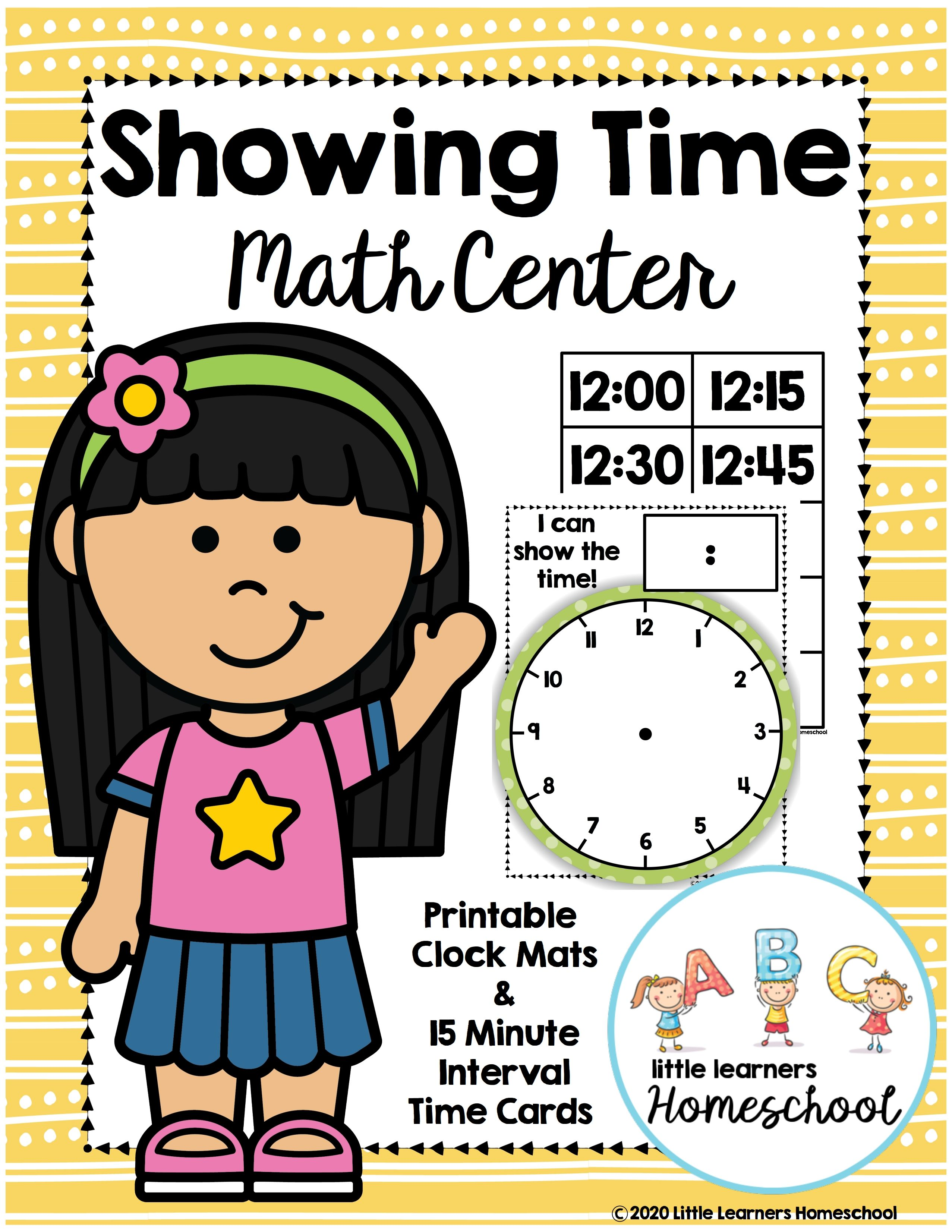 Showing Time Math Center In