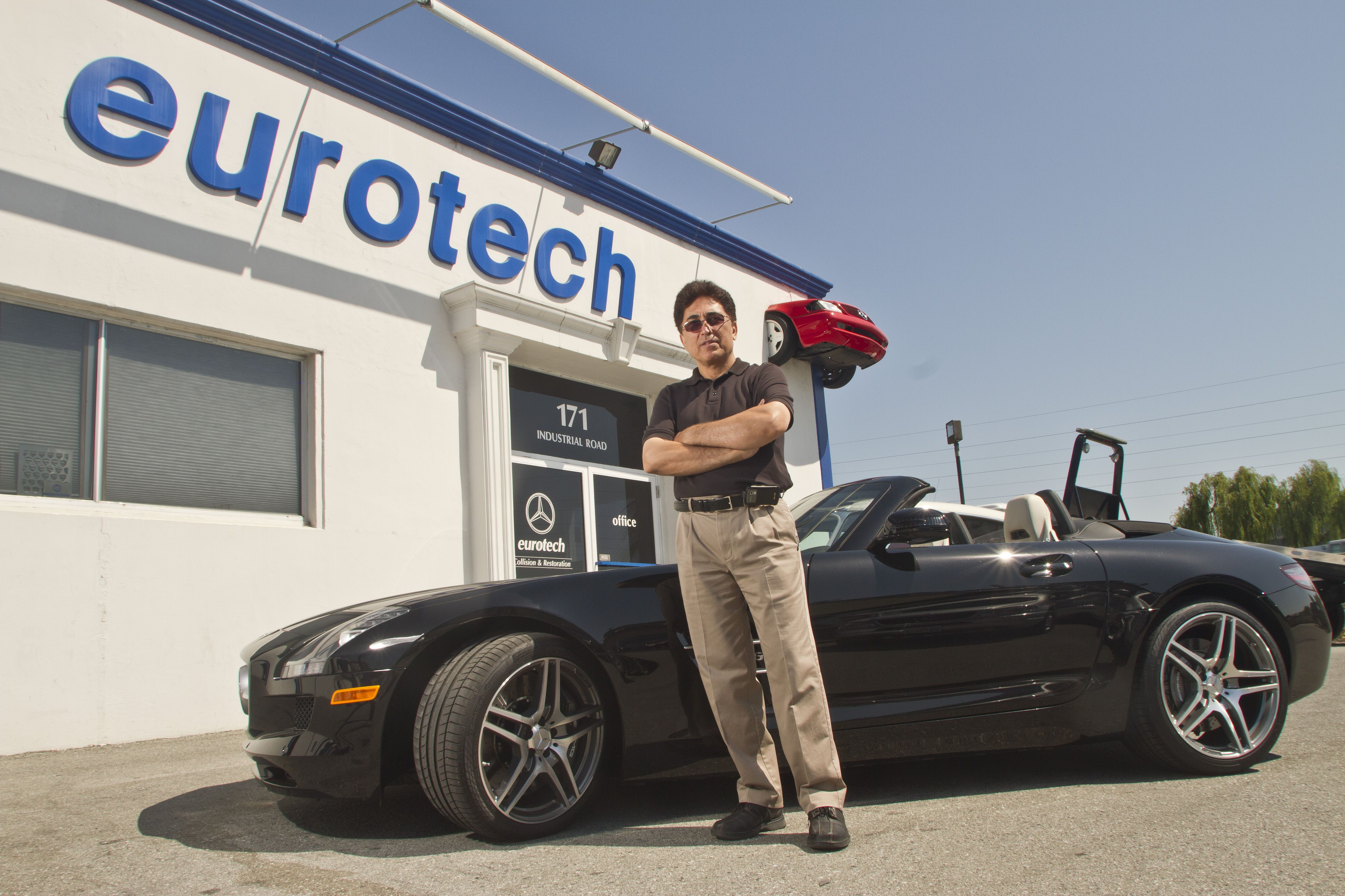 Having several years' experience as operation manager in Mercedes Benz USA, Michael Keynejad established Eurotech, a complete Auto Care facility certified by Mercedes-Benz of North America with the help of Heinz Gunther back in 80s. Mike has been built up a trust relationship with his clients and today Eurotech is proud to provide complete auto care and collision services for all makes and models of cars, including those requiring the highest level of quality workmanship such as…