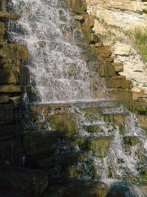 Briarcliff Waterfall In Riverside Missouri Waterfalls Pinterest