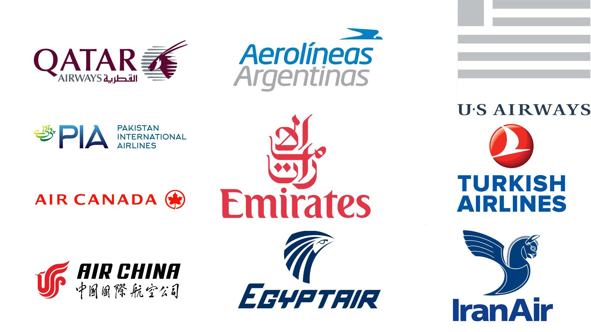 37 Most Popular Airline Logos of the World TechWafer