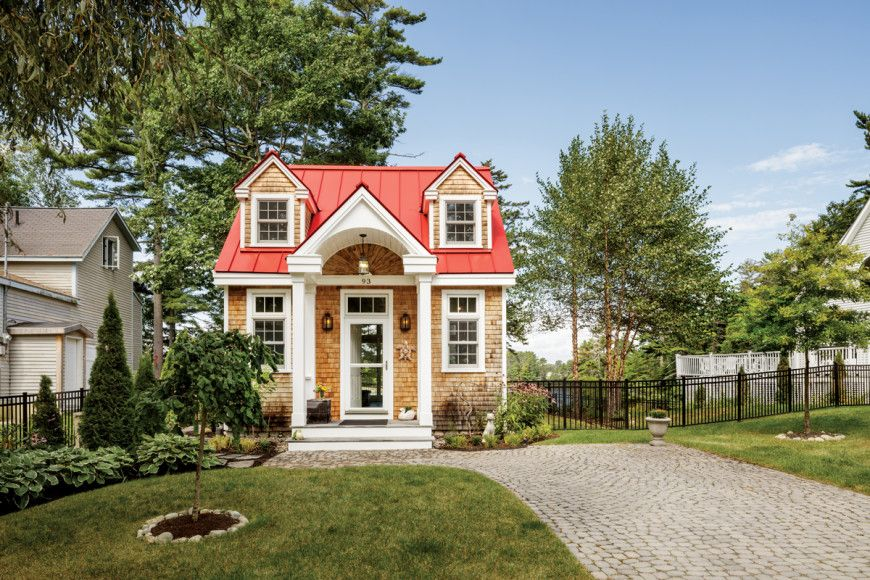 6 Maine Tiny Homes With Lots Of Character Cheap Tiny House Small Tiny House Mini House