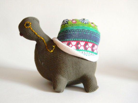 Mr. Turtle - Soft Sculpture / Abbie Paulhus