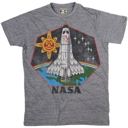 6001af92ae2a Men's Native American T-Shirt | Cool NASA Tees | Vintage Space TShirts |  PalmerCash