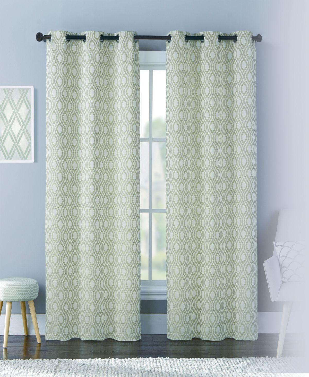 United Curtain Co Inc Mystique 76 X 84 Panel Pair Reviews