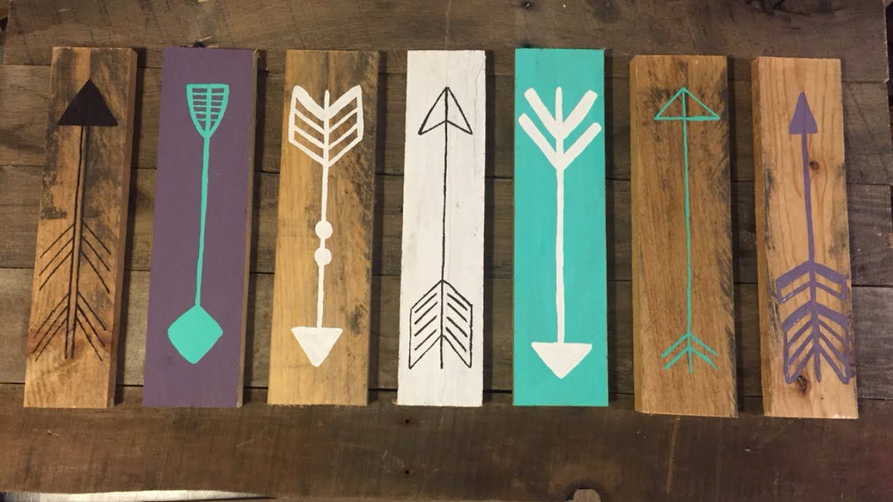 Make A Rustic Decorative Arrow Sign Diy Home Guidecentral