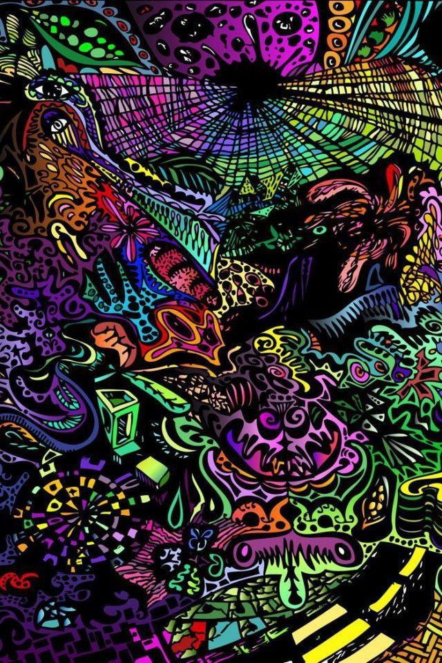 Trippy Wallpapers Iphone X Screensaver Background Trippy Iphone
