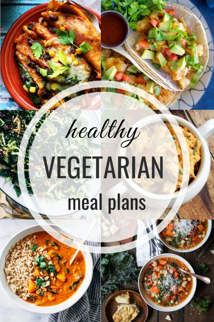 Healthy Vegetarian Meal Plans: Week of 12/29/18 - Making Thyme for Health