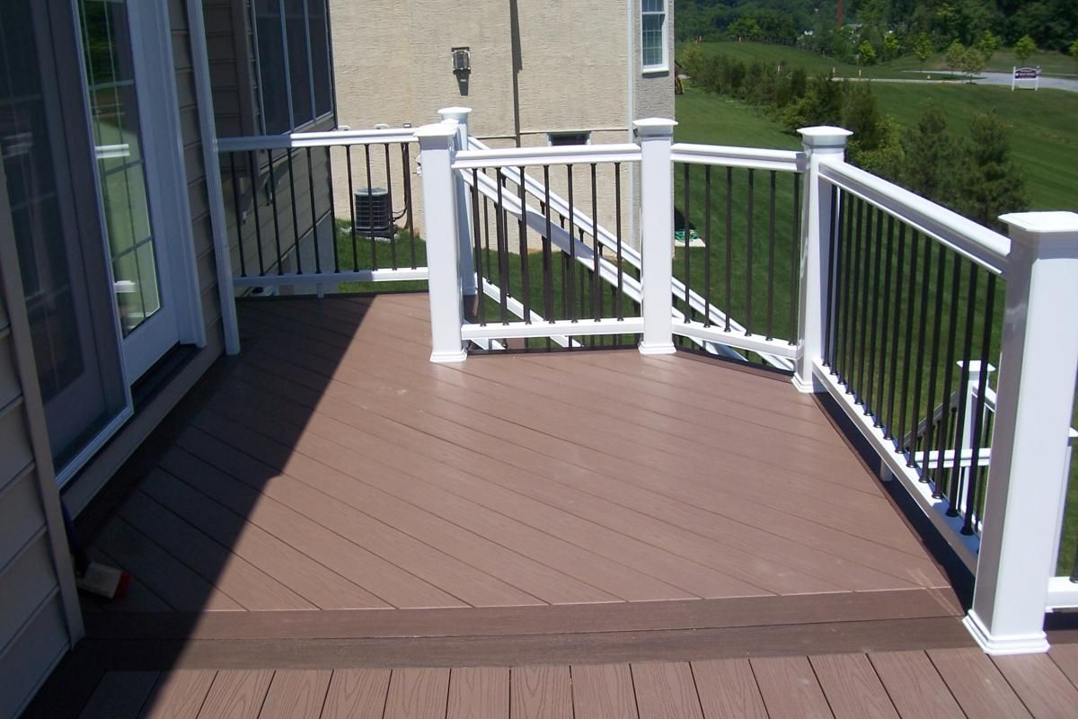 Best Wood Deck Railing Designs Ideas u2014