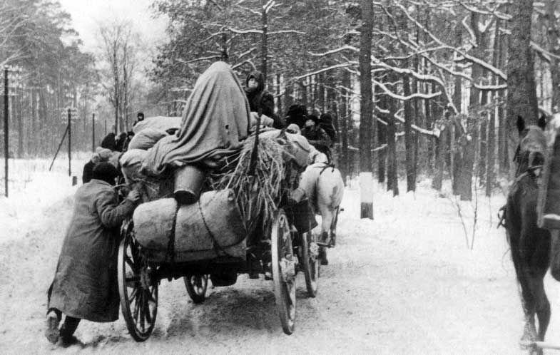 Flucht Und Vertreibung 1945
