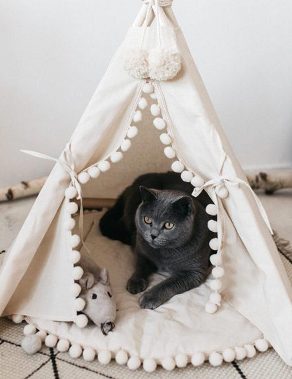 Id 9586312418 Diy Cat Bed Pet Teepee Cat Teepee