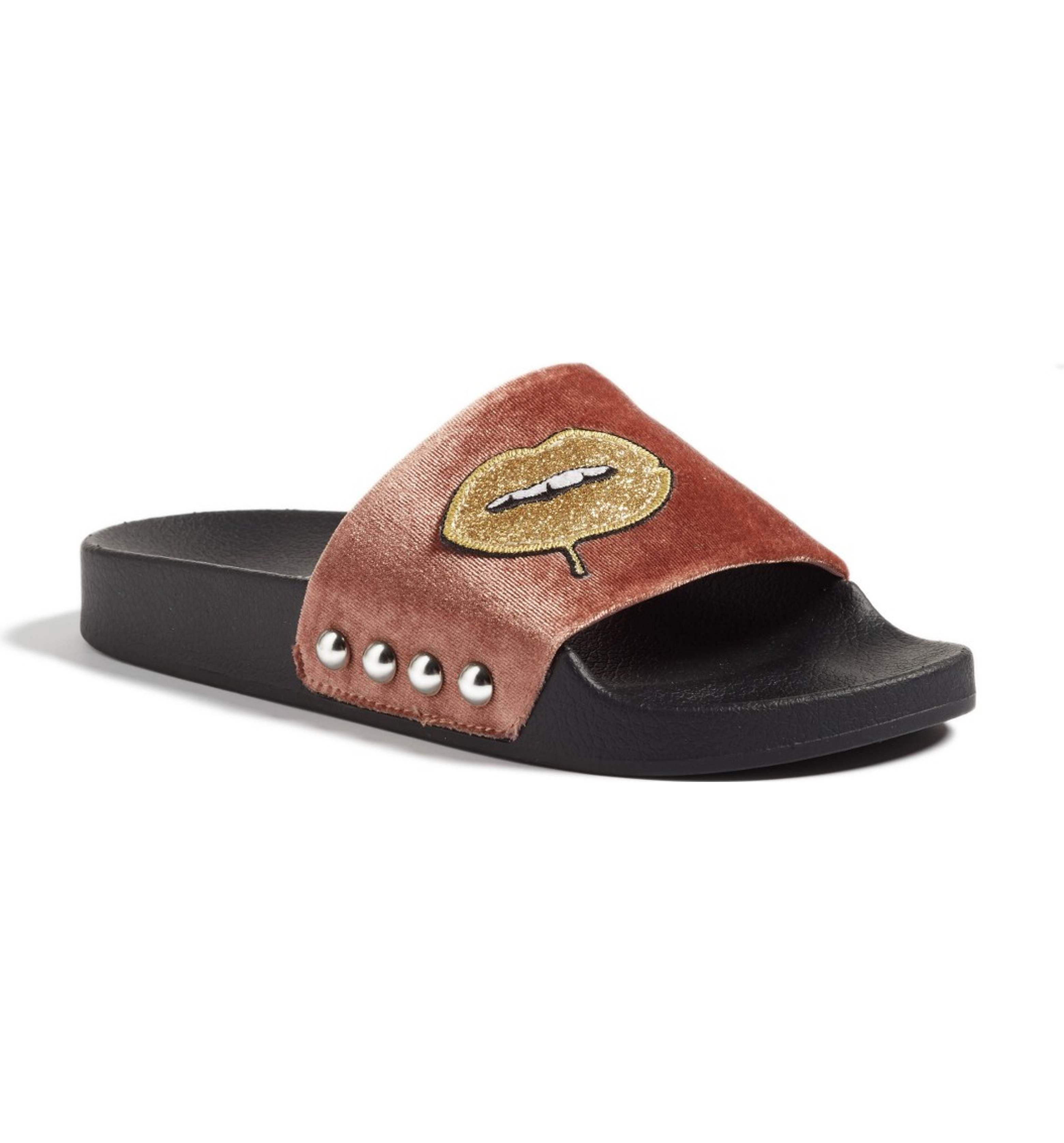 f3e76bbe426 Main Image - Steve Madden Patches Slide Sandal (Women) Have them and love  them!
