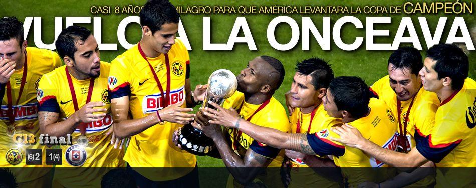 america campeon | América campeón; vence a Cruz Azul en penaltis