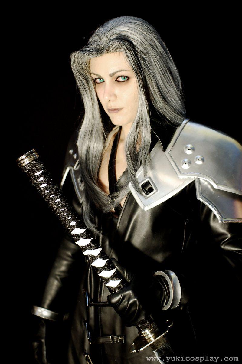 Final Fantasy Sephiroth Cosplay Final Fantasy VII: Adv...