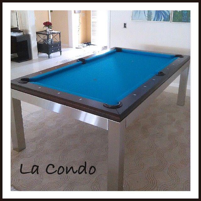 Instagram Media By Boyntonbilliards Canada Billiard La Condo Stainless Pool Table What Beautiful Lines