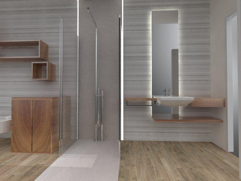 DOCCIA PASSANTE La soluzione ideale per un bagno lungo e