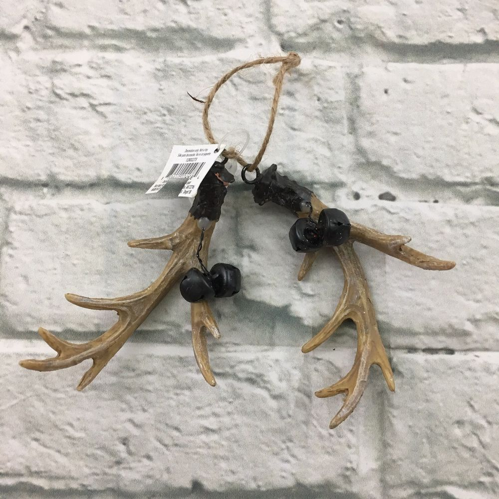 Christmas Tree Made Of Deer Antlers: Details About Christmas Tree Holiday Hanging Ornament Deer