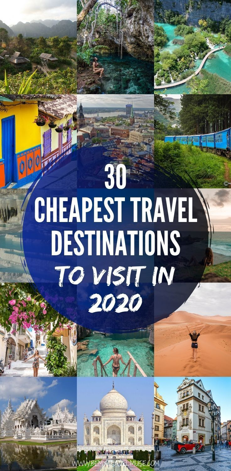 30 Cheapest Travel Destinations to Visit in 2020