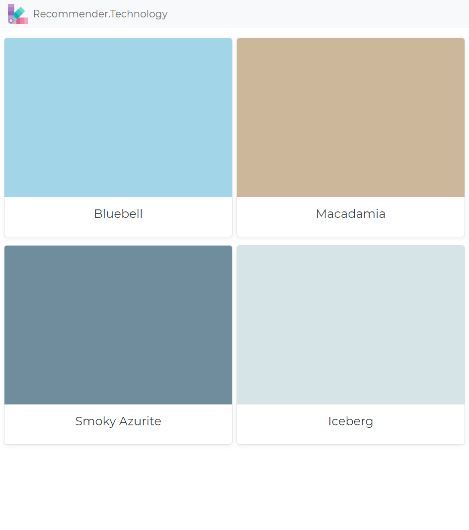 Bluebell Macadamia Smoky Azurite Iceberg Paint Color Palettes Paint Colors Sherwin William Paint