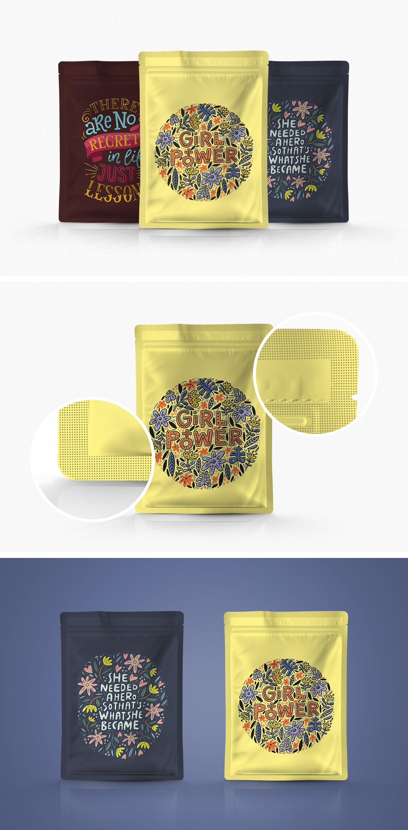 Download Pouch Packaging Psd Mockup Packaging Mockup Pouch Packaging Mockup Free Psd