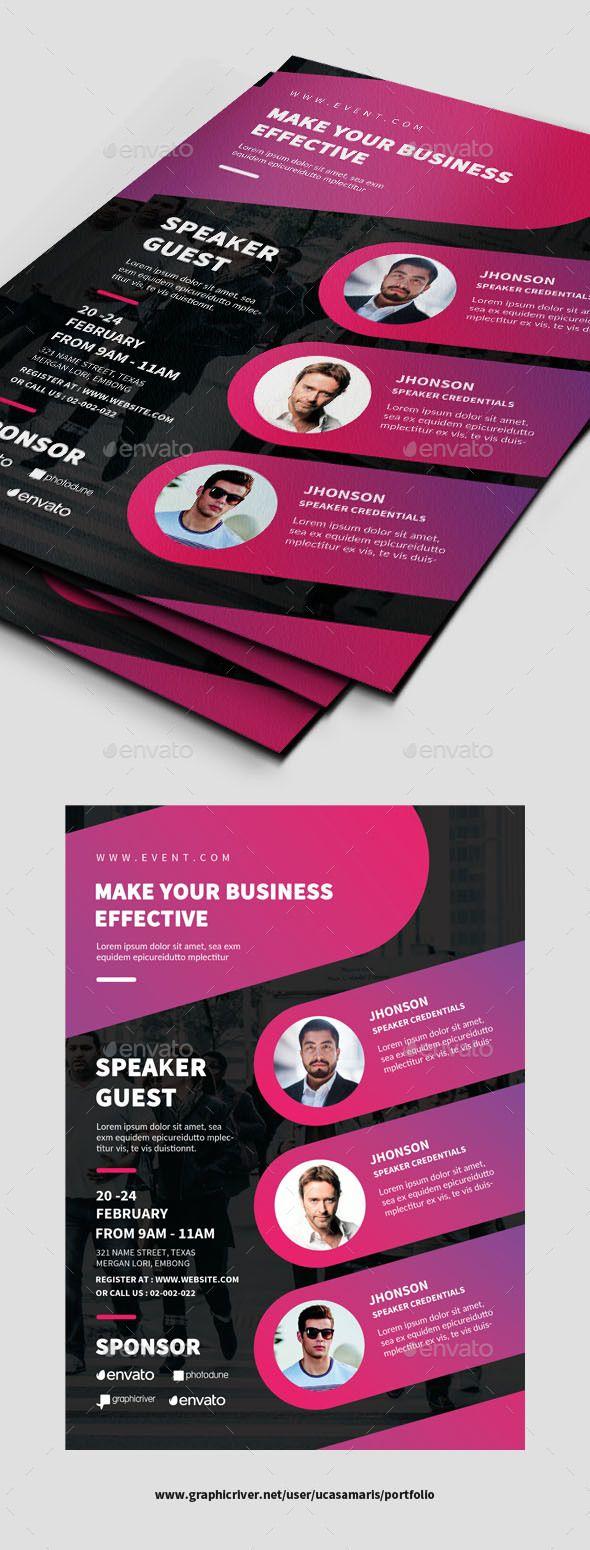 conference flyer events flyers flyer pinterest flyer design