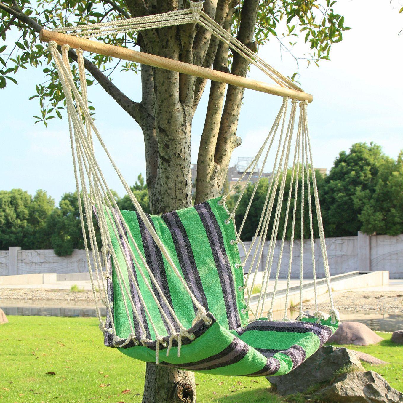 Tree Hanging Suspended Indoor/Outdoor Hammock Chair
