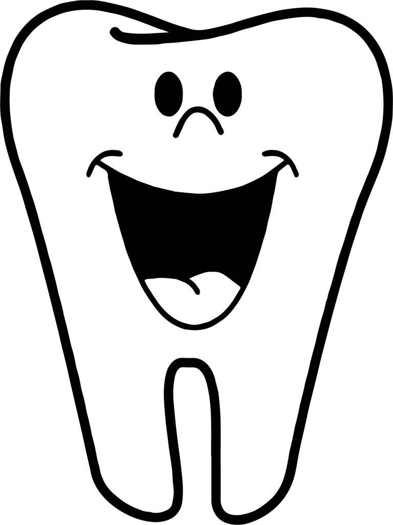 Tooth Coloring Pages Coloring Pages Magic Dental Coloring Pages