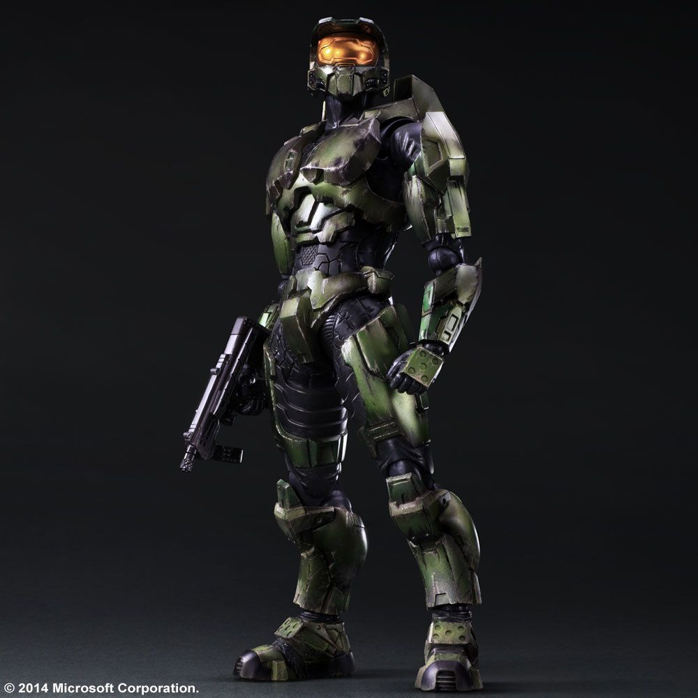 Play Arts Kai Halo 2 Anniversary Edition Master Chief Cool