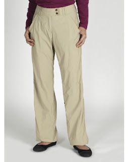 These @ExOfficio Ziwa Bugs Away Pants roll up to capris & offer a UPF of 30+. Repels pesky mosquitoes too.