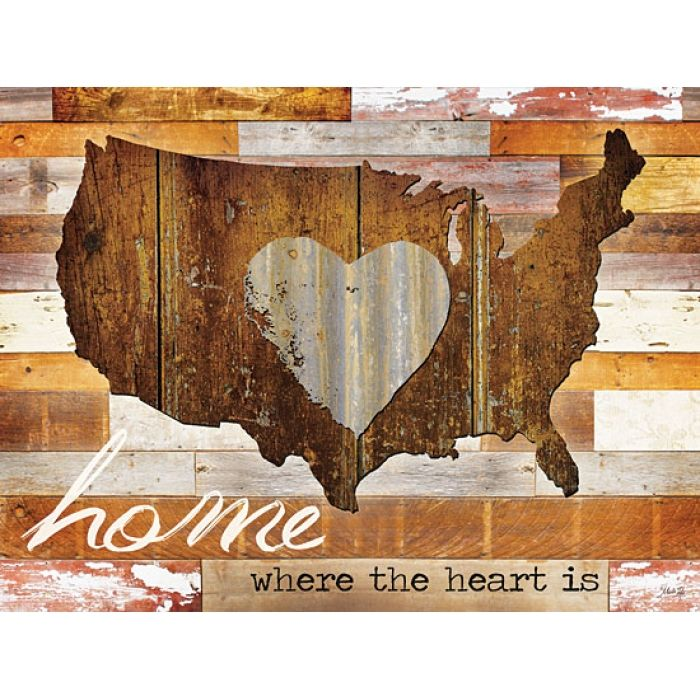 Home - Where the Heart is I - artwork by Penny Lane Artist Marla Rae