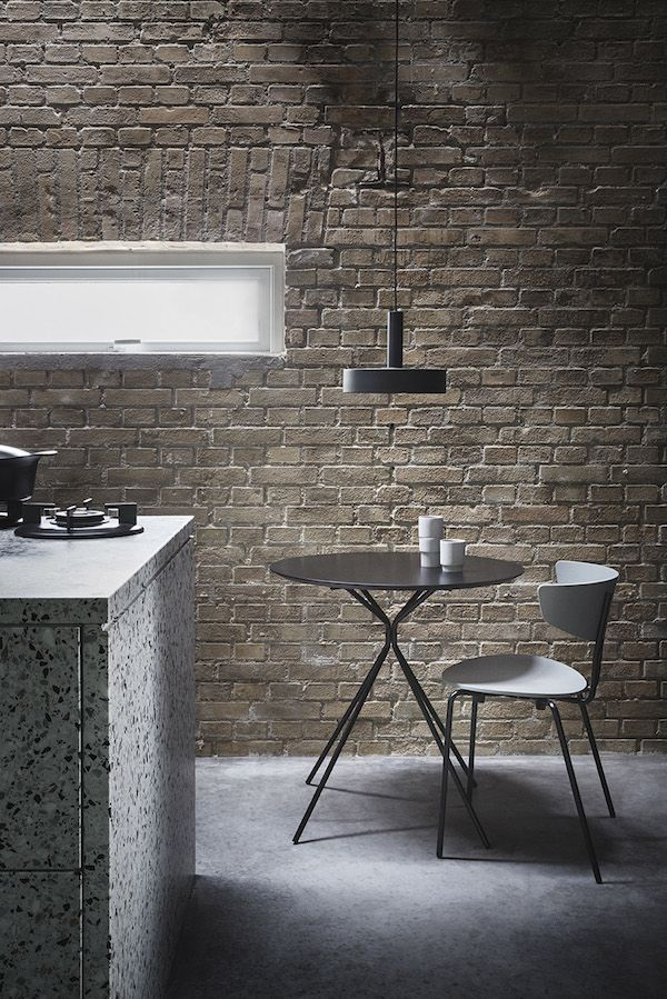 vosgesparis Ferm living The new 'Collect' lighting series is an interchangeable lighting system that allows you to create your own lamp by selecting your favourite lampshade and pair it with a socket pendant of your choice.