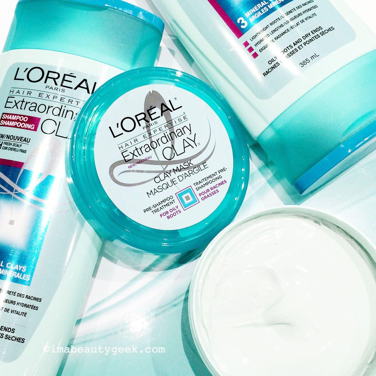 L'OREAL EXTRAORDINARY CLAY HAIRCARE Beautygeeks Loreal