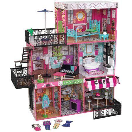 KidKraft Brooklyn's Loft Dollhouse, Multicolor