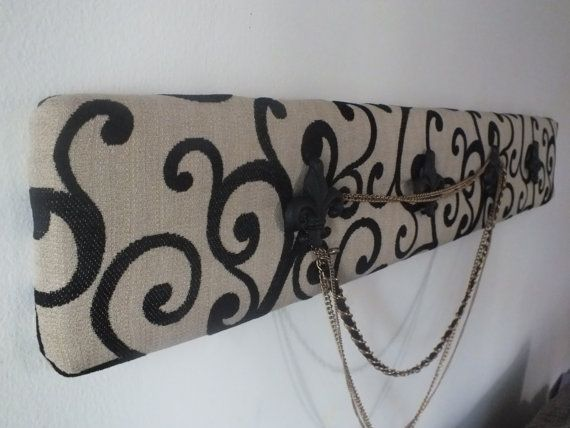 Elegant Handcrafted jewelry  hanger by LittleFrenchCottage on Etsy, $32.50