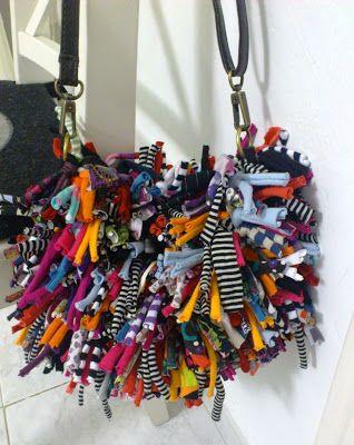 tamknitting: Nuevo bolso de trapillo