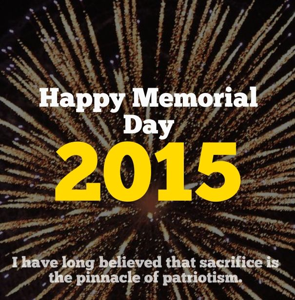 Memorial day quote and wishes 2015