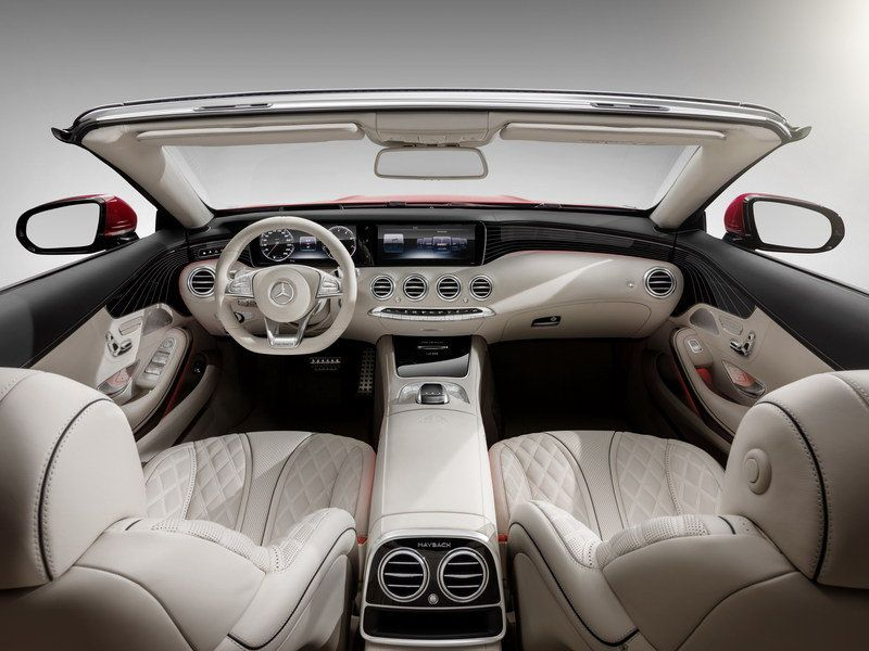 Spoil Yourselves Silly With The Mercedes Maybach S650 Cabriolet
