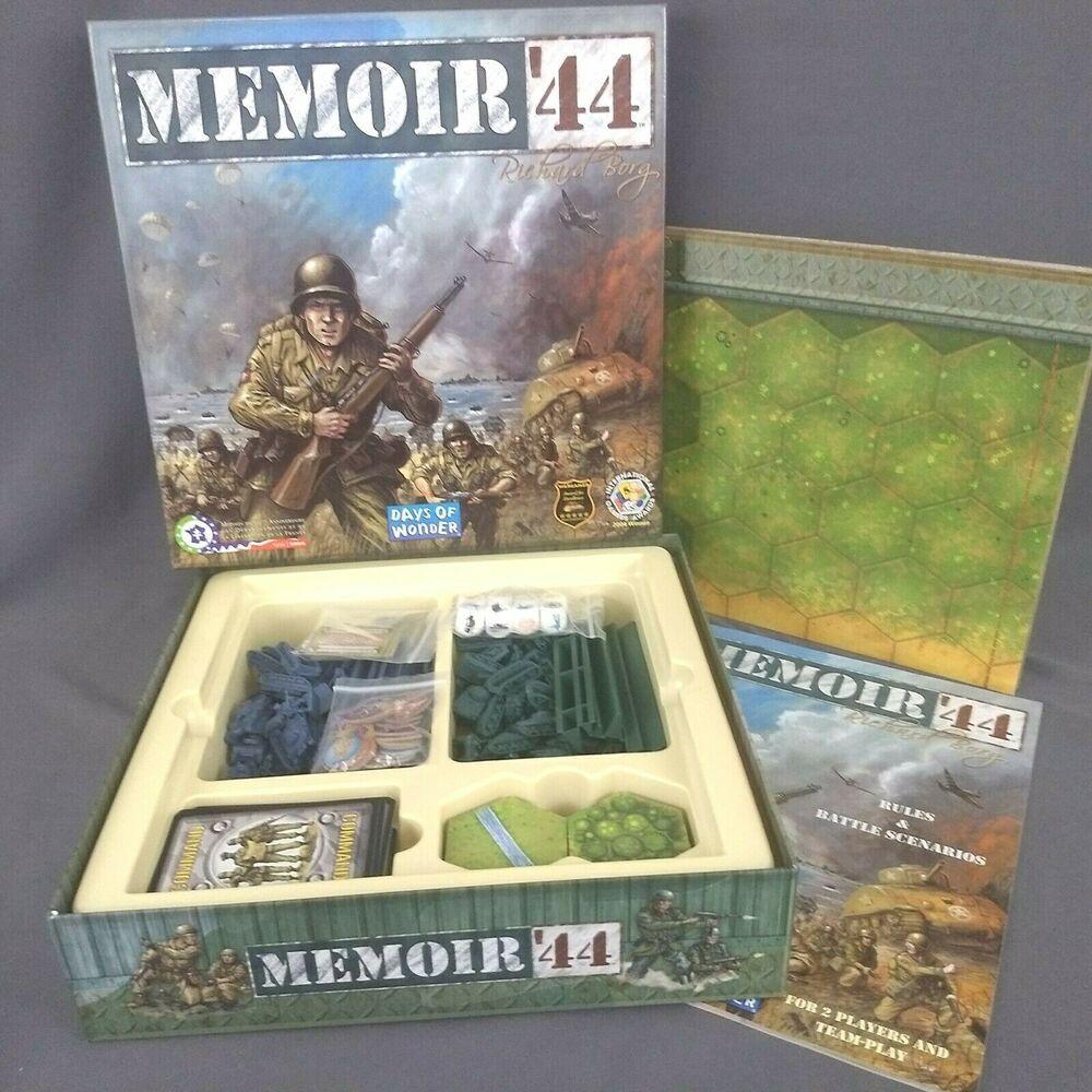 Memoir 44 Board Game Days Of Wonder Complete Daysofwonder