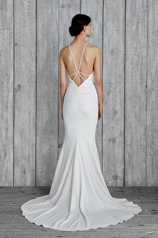 Modern Luxe Nicole Miller Fall 2015 Onefabday Com Nicole Miller Wedding Dresses Nicole Miller Bridal Destination Wedding Dress