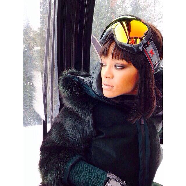 Mariah Carey Winter Style – Aspen - Celebrity Photos